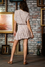 AAKAA Tie-Front Mini Dress - Side cropped