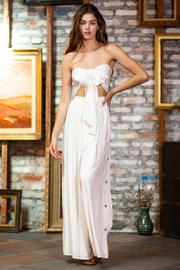 AAKAA Tube-Top Skirt Set - Front cropped