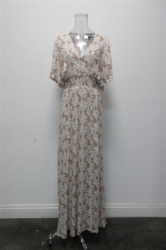 AAKAA V-Neck Floral Maxi - Product List Image