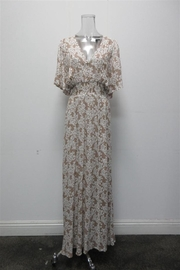 AAKAA V-Neck Floral Maxi - Product Mini Image