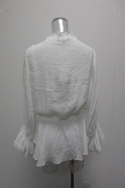 AAKAA Waist String Top - Front full body