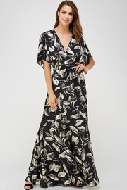 AAKAA Wrapped Maxi Dress - Product Mini Image