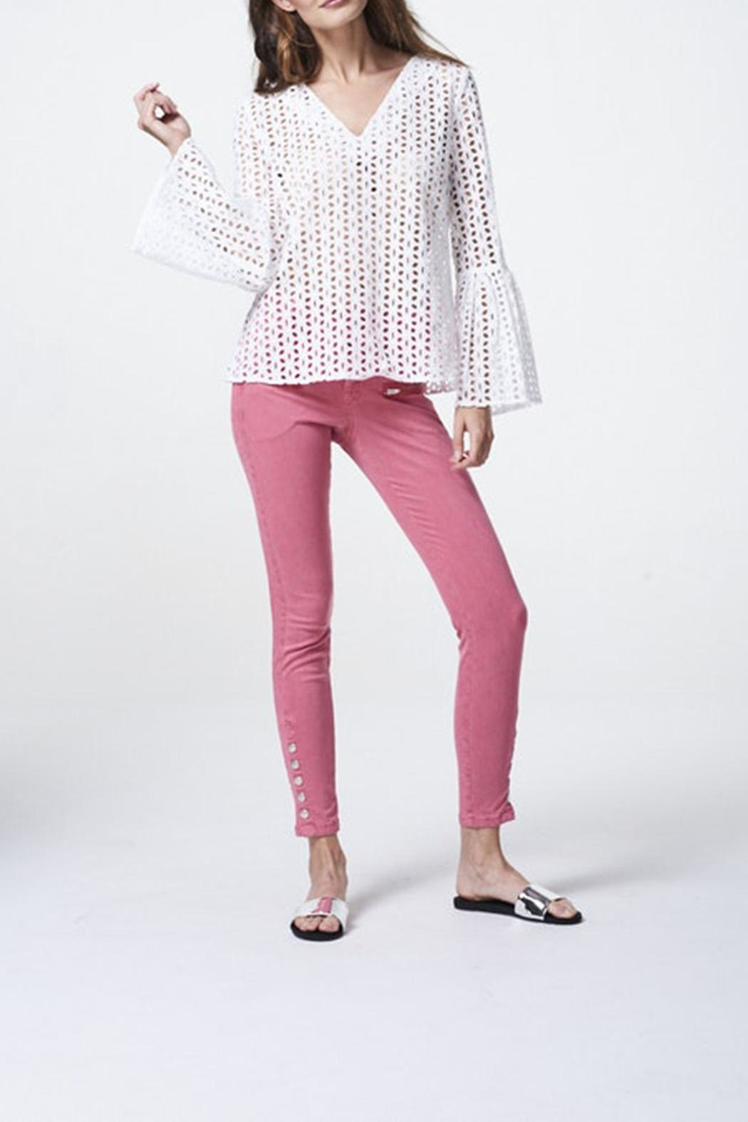 Aako Byrani Blouse - Front Cropped Image