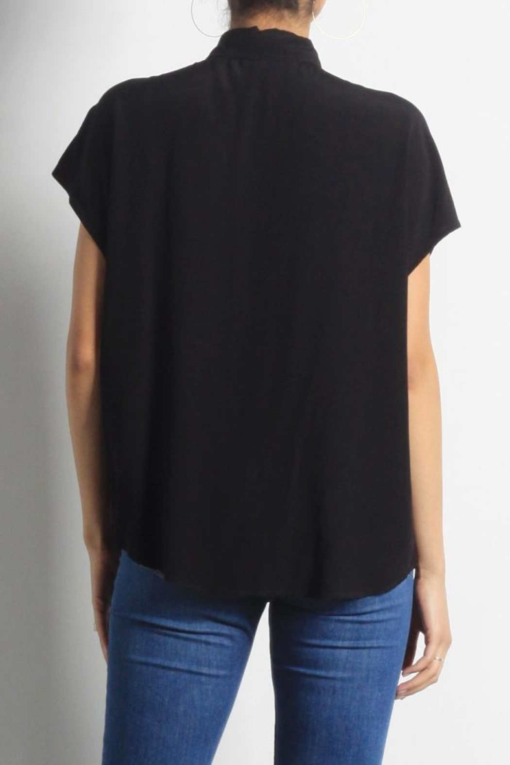 Mod Ref Aaron Blouse Top - Back Cropped Image