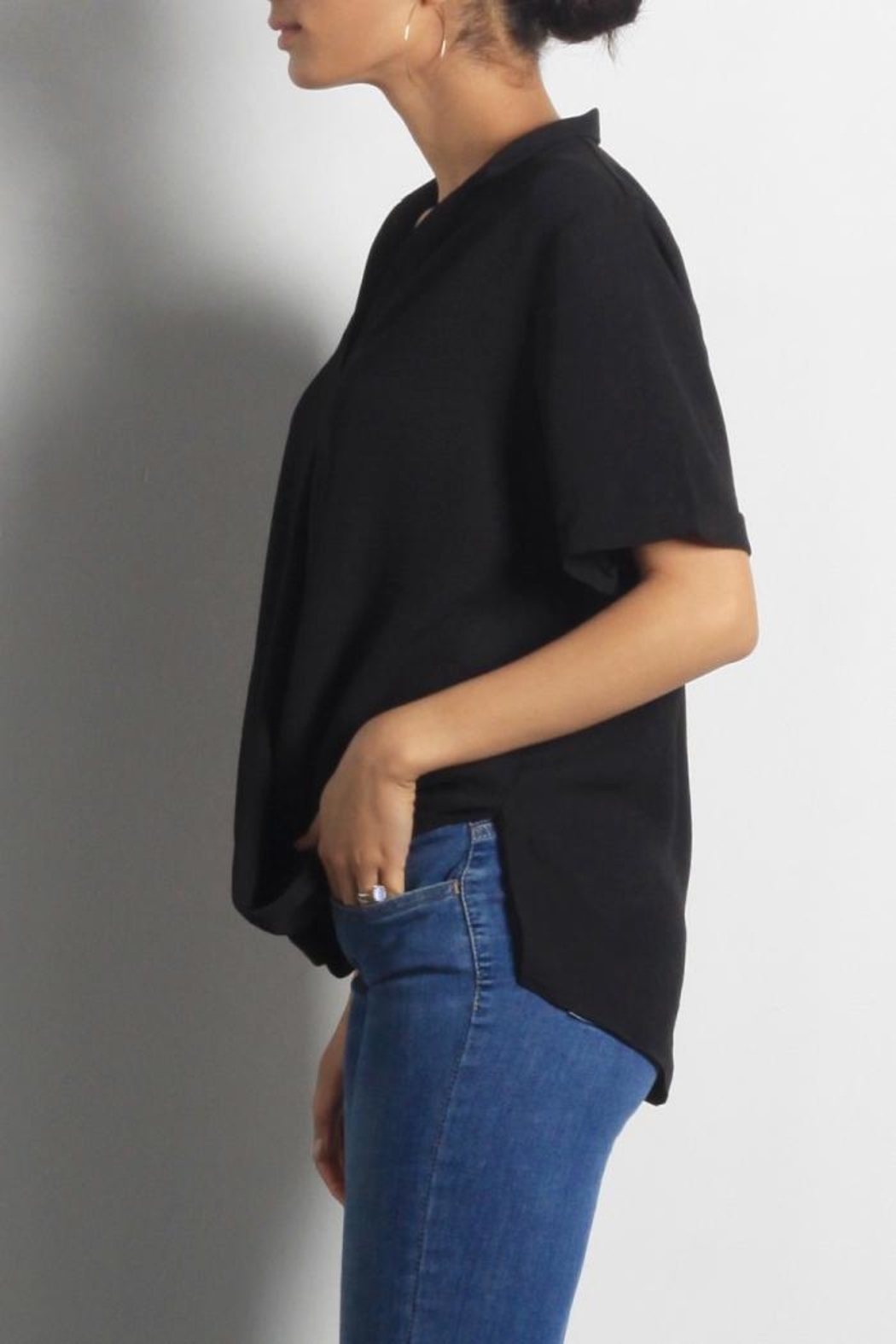 Mod Ref Aaron Blouse Top - Front Full Image