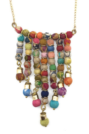 Anju Handcrafted Artisan Jewelry Aasha Necklace - Front cropped