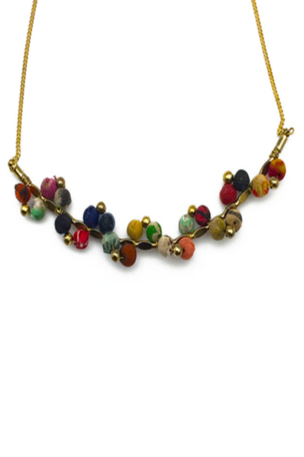 Anju Handcrafted Artisan Jewelry Aasha Necklace - Front Cropped Image