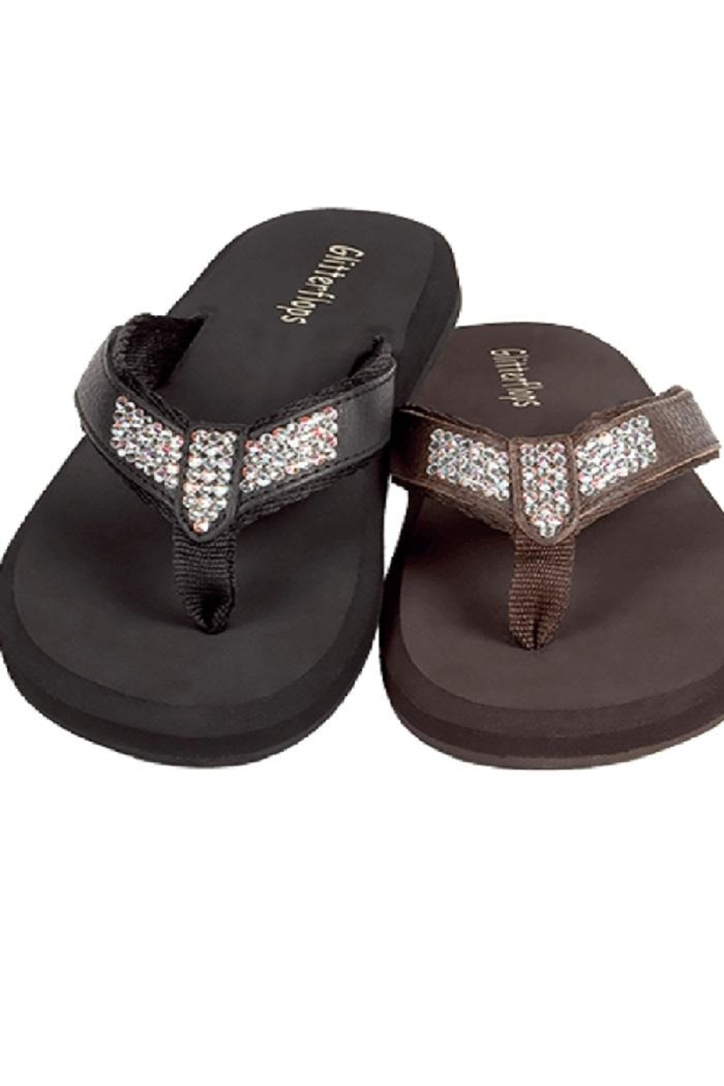5aa1a7efa Glitterflops Ab Crystal Flipflops from Texas by Rock2Royal Boutique ...