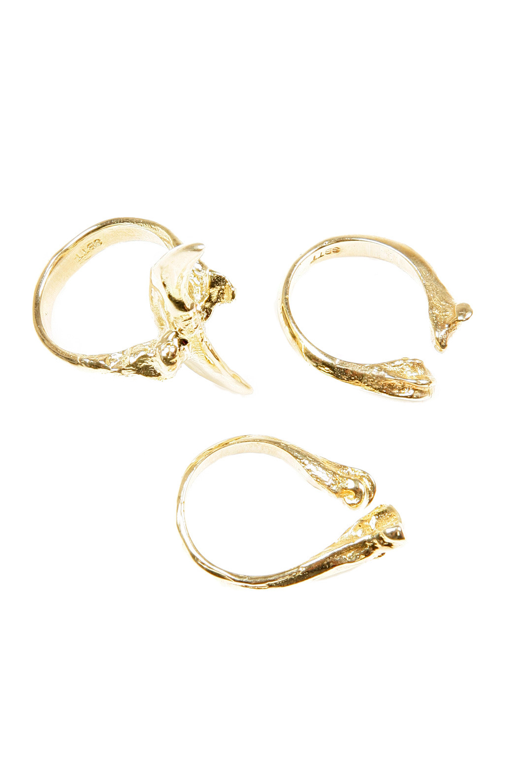 Species by the Thousands Toothbone Ring - Main Image