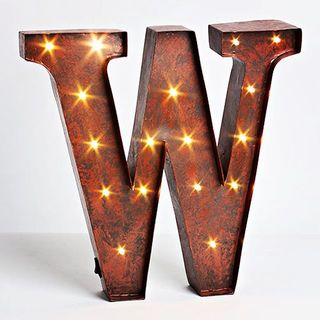 Shoptiques Product: Lighted Metal Letters
