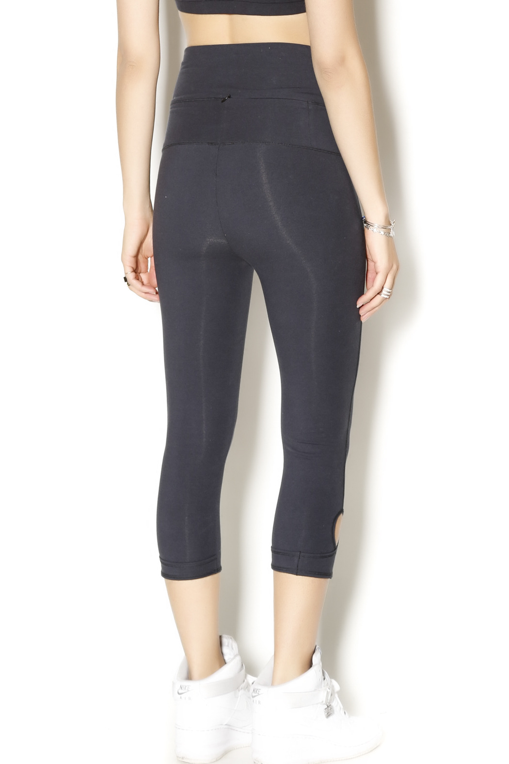 Alternative Apparel Lean Into It Legging - Back Cropped Image