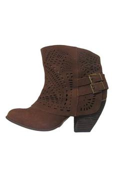 Naughty Monkey Tan Suede Booties - Product List Image