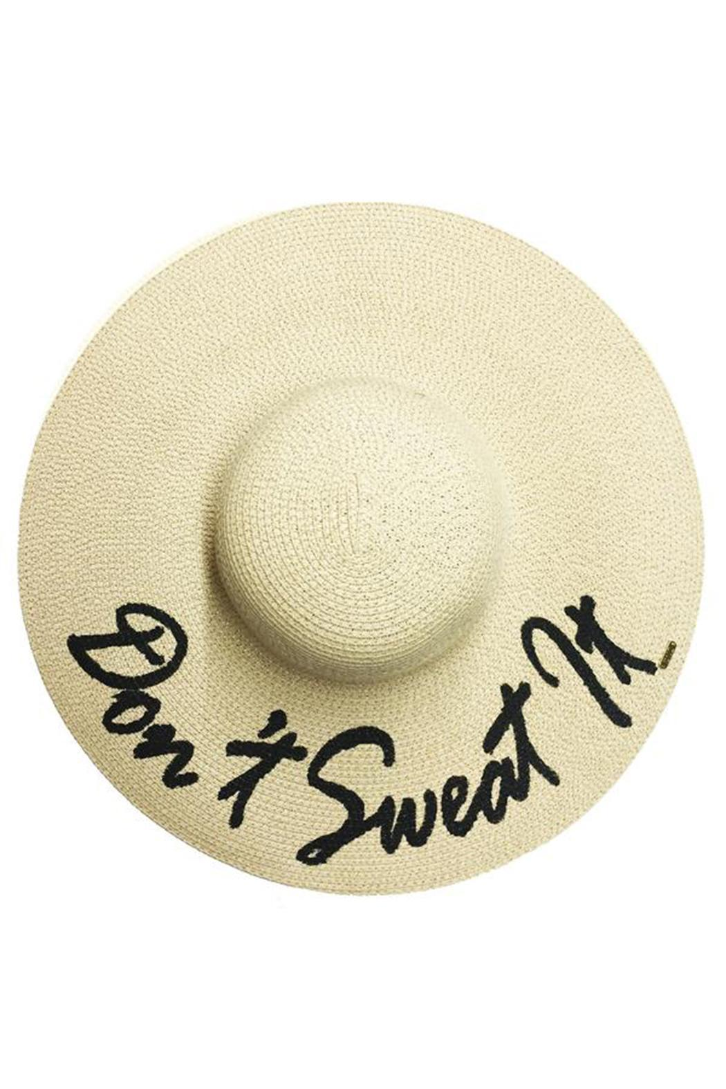 Abaco Beach Company Don't Sweat It Hat - Front Cropped Image