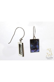 CDO  Abalone Earrings Sterling - Front cropped
