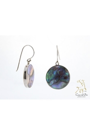 CDO  Abalone Earrings Sterling - Product Mini Image