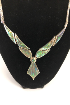 ACleoni Abalone Necklace - Alternate List Image