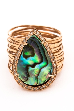 Jacquie Aiche Abalone Waif Ring - Product List Image