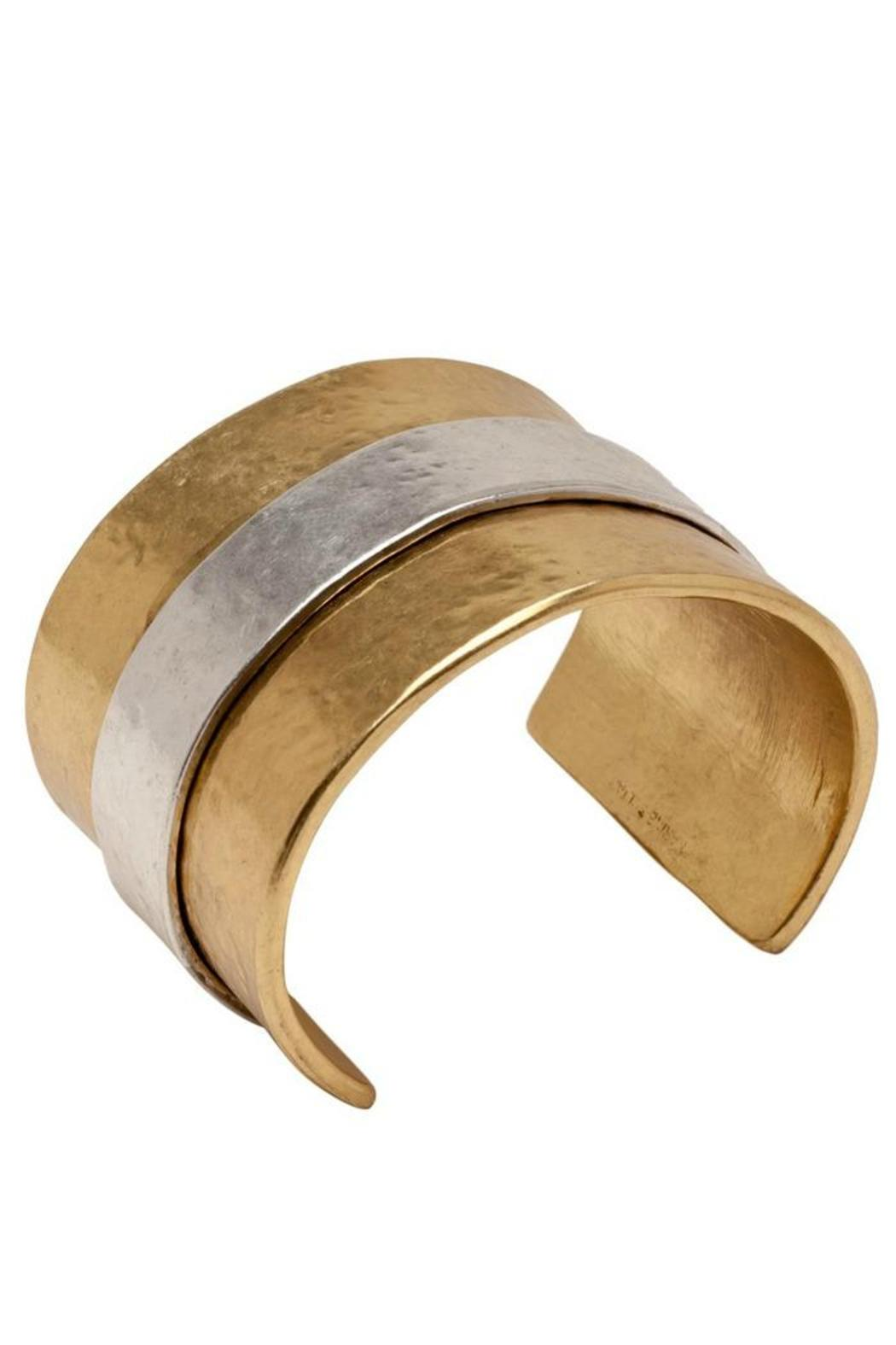 Karine Sultan Two Tone Cuff - Front Full Image