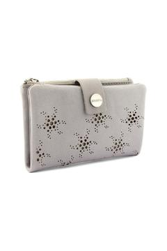 Shoptiques Product: Grey Leather Wallet