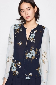 Joie Abboid Printed Blouse - Product Mini Image