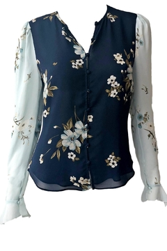Joie Abboid Printed Blouse - Product List Image