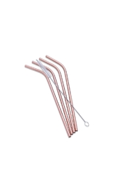 Abbott Collection 4-Pack Steel Straws - Product Mini Image