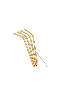 Abbott Collection 4-Pack Steel Straws - Product List Image