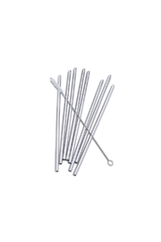 Abbott Collection 8-Pack Steel Straws - Product Mini Image
