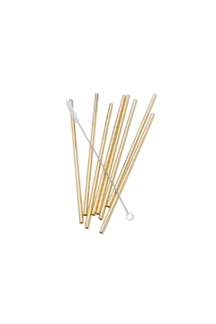 Abbott Collection 8-Pack Steel Straws - Product List Image
