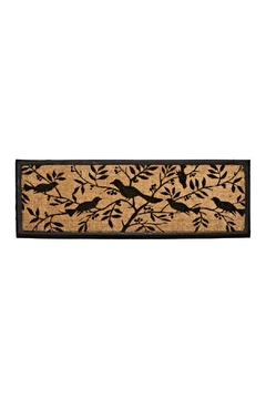 Abbott Collection Bird Silhouette Doormat - Alternate List Image