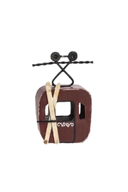 Abbott Collection Cable Car Ornament - Product Mini Image