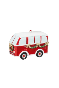 Abbott Collection Holiday Bus Ornament - Product List Image