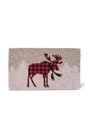 Abbott Collection Standing Moose Mat - Front cropped