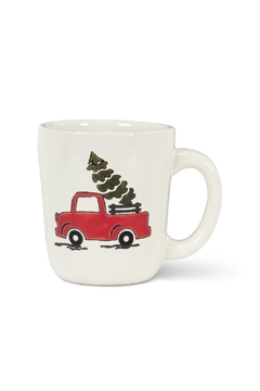 Abbott Collection Truck and Tree Mug - Alternate List Image