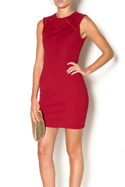Abby & Taylor Burgundy Sleeveless Dress - Product Mini Image