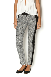 Abby & Taylor Multicolor Pattern Pant - Product Mini Image