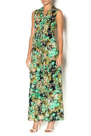 Abby & Taylor Sleeveless Tropical Jumpsuit - Product Mini Image