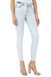 Liverpool  Abby Ankle Skinny in Heron - Product Mini Image