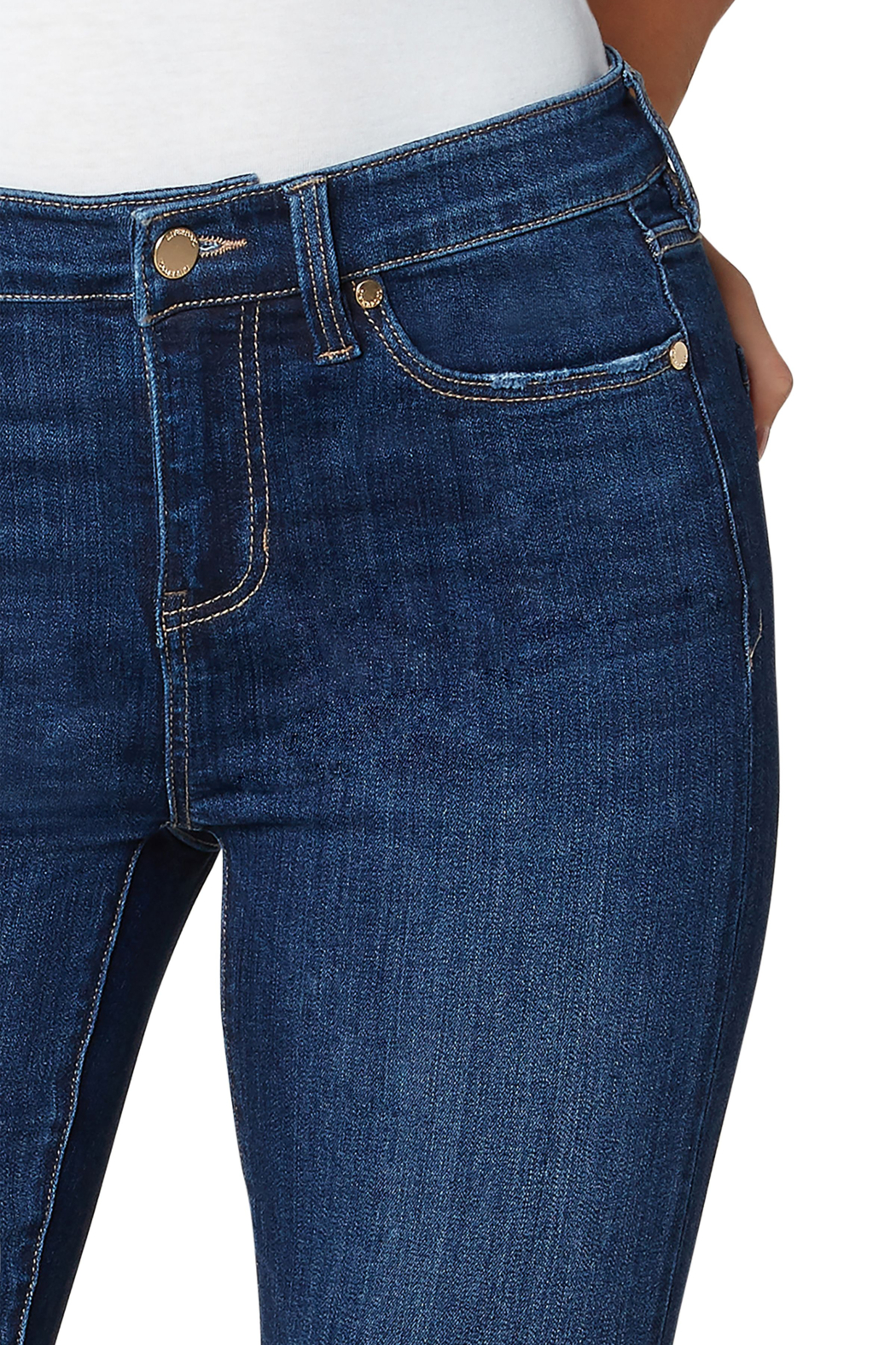 Liverpool  Abby Ankle Skinny Jean - Front Full Image