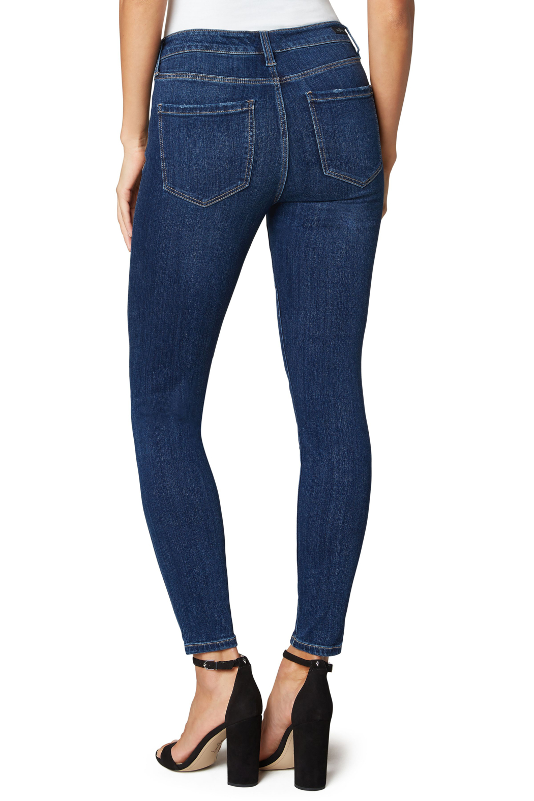 Liverpool  Abby Ankle Skinny Jean - Side Cropped Image
