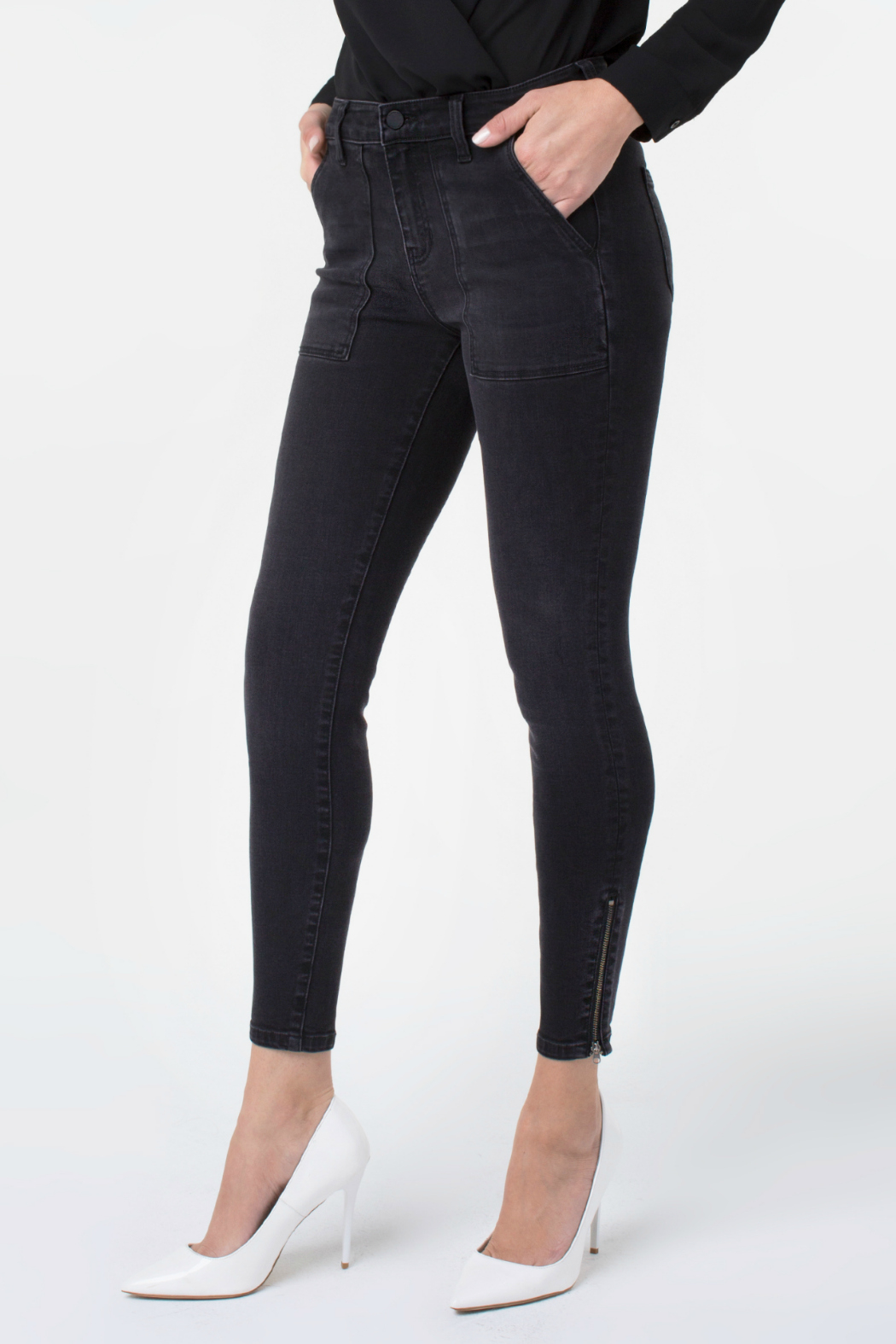 Liverpool Jeans Company Abby ankle zip 27