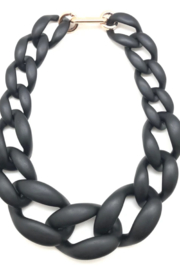 SHIVER + DUKE Abby Chunky Chain Link Necklace - Product Mini Image