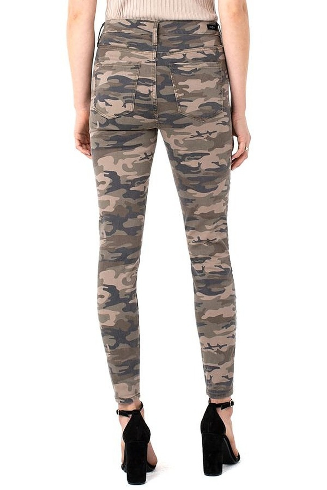 Liverpool  Abby Hi-Rise Ankle Skinny - Side Cropped Image