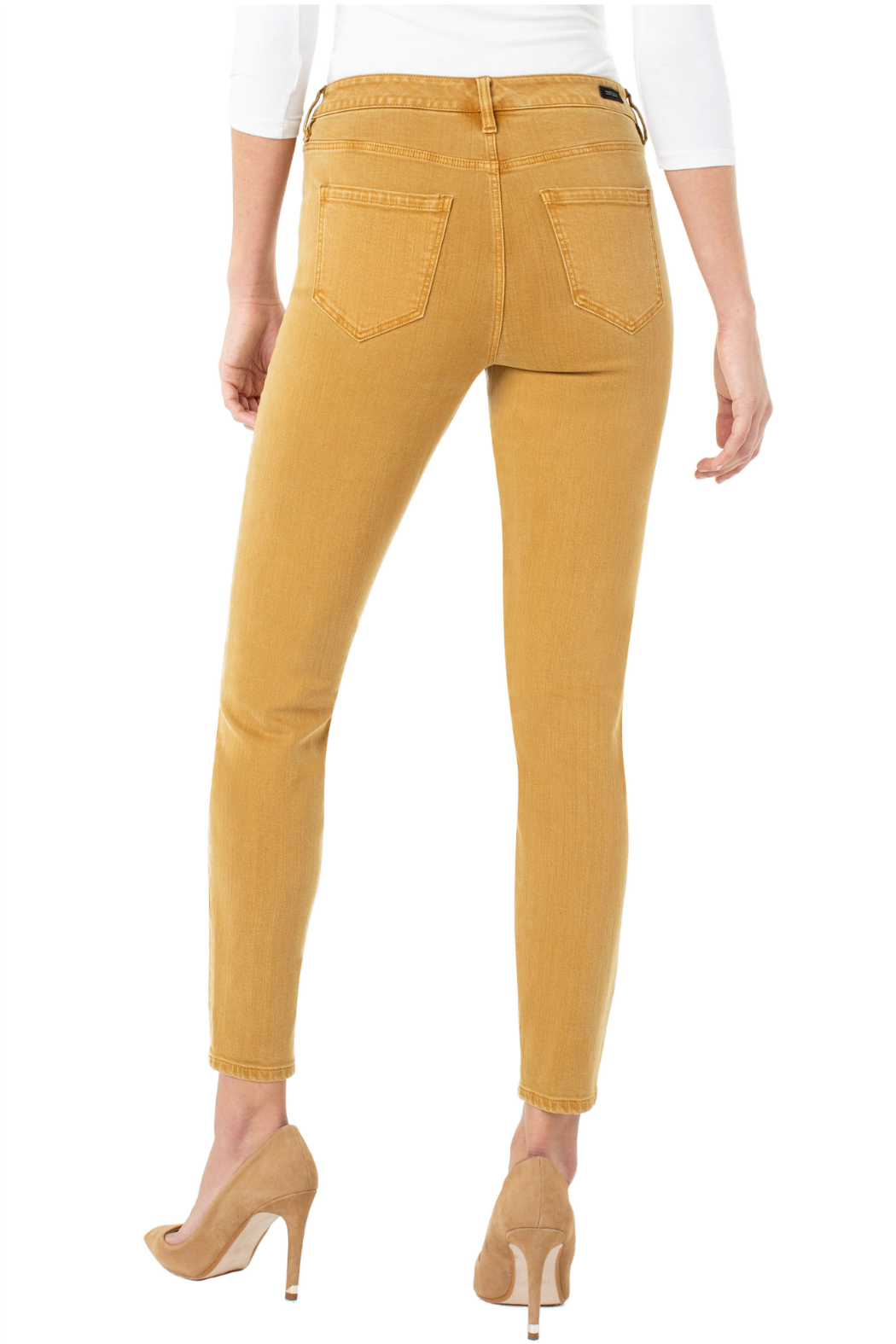 Liverpool Highrise Skinny Jeans - Side Cropped Image