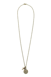 Abby Lane Heart Necklace - Front cropped