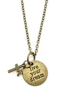 Abby Lane Live Your Dream Necklace - Alternate List Image