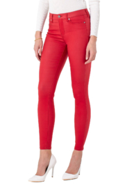 Liverpool  Abby Skinny Coated Jean - Product Mini Image