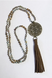 Abby Lane Beaded Necklace - Product Mini Image