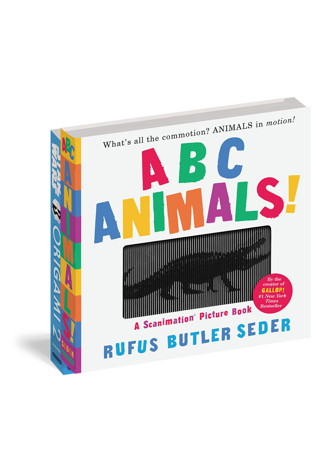Workman Publishing ABC Animals: A Scanimation Picture Book - Main Image