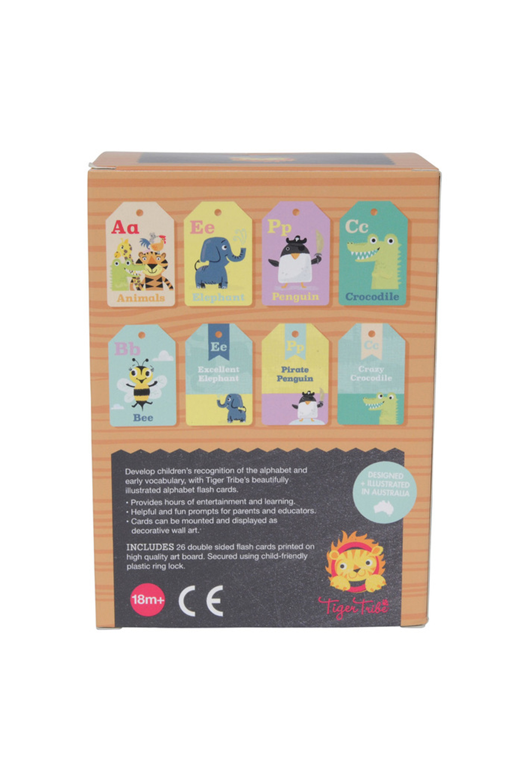 Schylling ABC Flash Cards - Side Cropped Image